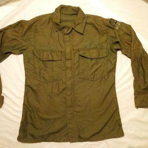 ARMY MILITARY OLIVE GREEN IABDU COMBAT Shirt 00126